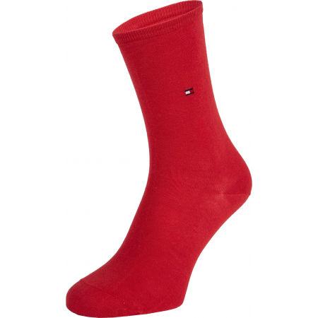 Dámské ponožky - Tommy Hilfiger WOMEN SOCK DOT 2P - 2