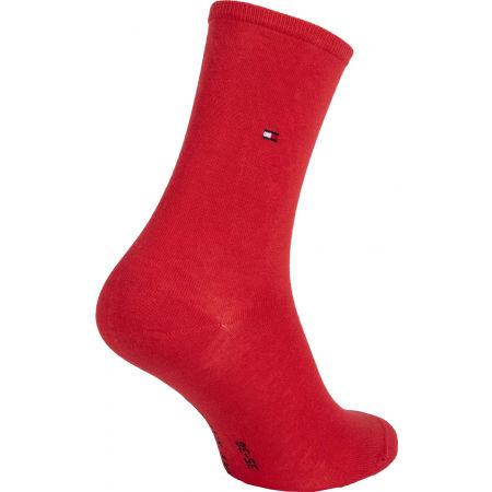 Dámské ponožky - Tommy Hilfiger WOMEN SOCK DOT 2P - 3