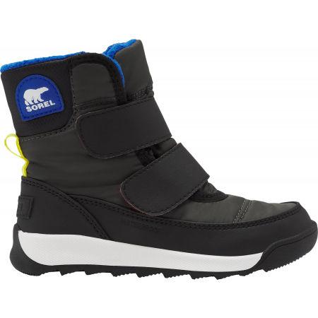 Dětské zimní boty - Sorel WHITNEY II STRAP GRY - 1