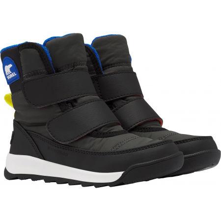 Dětské zimní boty - Sorel WHITNEY II STRAP GRY - 3