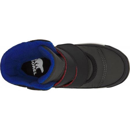 Dětské zimní boty - Sorel WHITNEY II STRAP GRY - 4