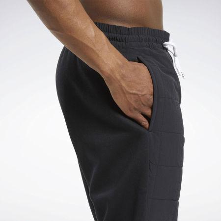 Pánské tréninkové kalhoty - Reebok MYT QUILTED PANT - 9