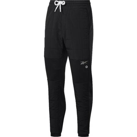 Pánské tréninkové kalhoty - Reebok MYT QUILTED PANT - 1