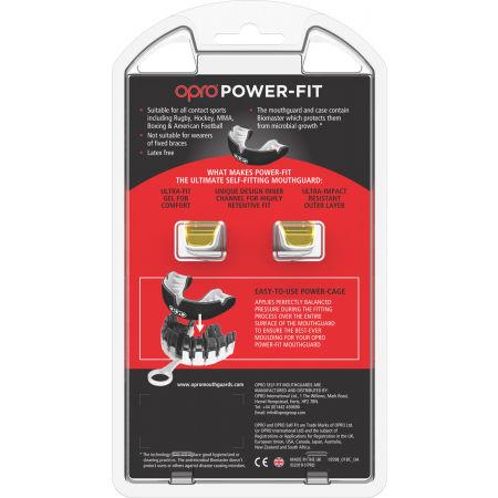 Chránič zubů - Opro POWER FIT SOLIDS - 4