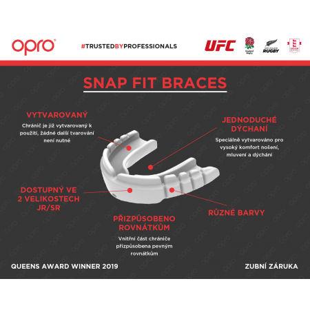 Chránič zubů - Opro SNAP FIT BRACES - 3