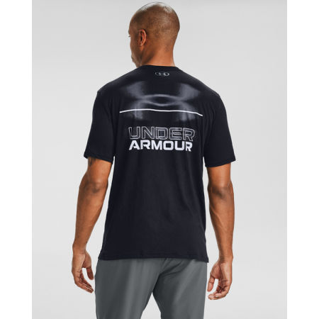 Pánské triko - Under Armour BLURRY LOGO WORDMARK SS - 4