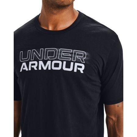 Pánské triko - Under Armour BLURRY LOGO WORDMARK SS - 5