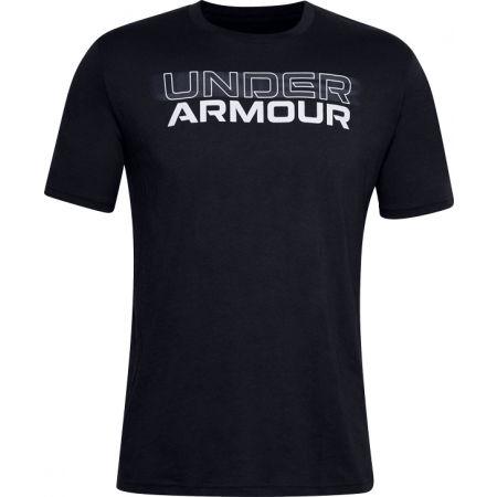 Pánské triko - Under Armour BLURRY LOGO WORDMARK SS - 1