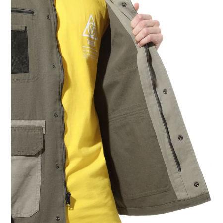 Pánský kabát - Vans MN DRILL CHORE COAT MILITARY - 6
