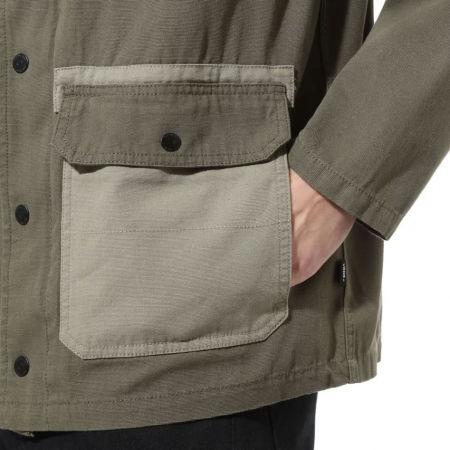 Pánský kabát - Vans MN DRILL CHORE COAT MILITARY - 7