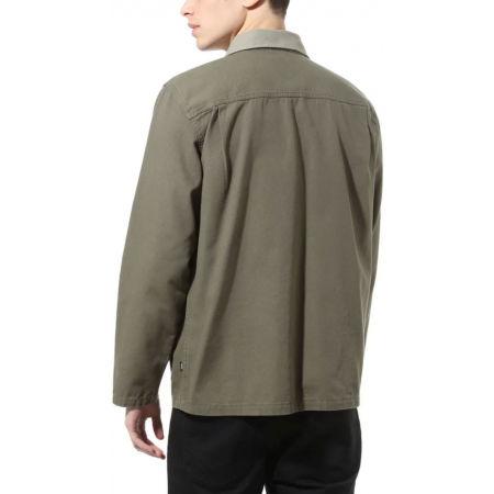 Pánský kabát - Vans MN DRILL CHORE COAT MILITARY - 4