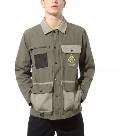 Pánský kabát - Vans MN DRILL CHORE COAT MILITARY - 2