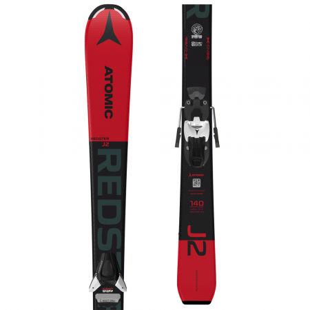 Dětské sjezdové lyže - Atomic REDSTER J2 130-150 + COLT 5 GW - 1