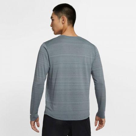 Pánské běžecké triko s dlouhým rukávem - Nike DRI-FIT MILER - 4