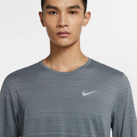 Pánské běžecké triko s dlouhým rukávem - Nike DRI-FIT MILER - 5