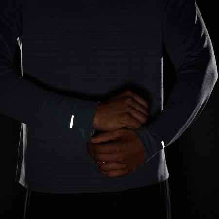 Pánské běžecké triko s dlouhým rukávem - Nike DRI-FIT MILER - 8