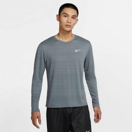 Pánské běžecké triko s dlouhým rukávem - Nike DRI-FIT MILER - 3