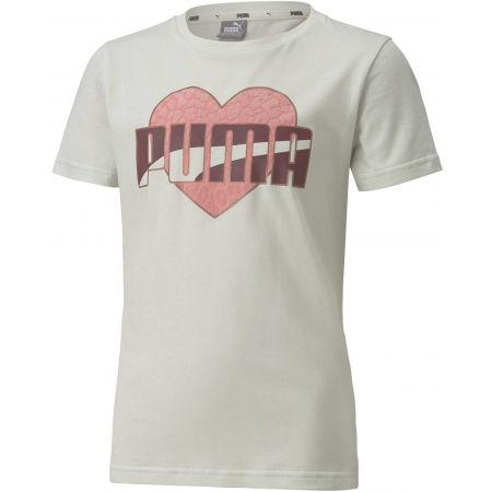 Puma ALPHA TEE G - Dívčí volnočasové triko