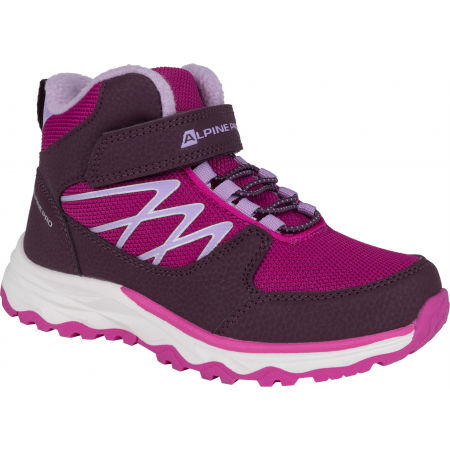 ALPINE PRO HALILO - Dětská zimní obuv