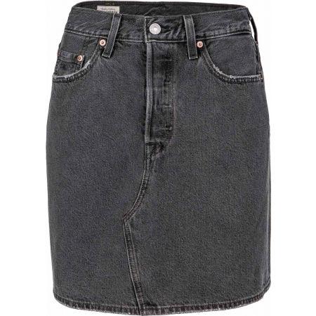 Levi's HR DECON ICONIC BF SKIRT CORE - Dámská riflová sukně