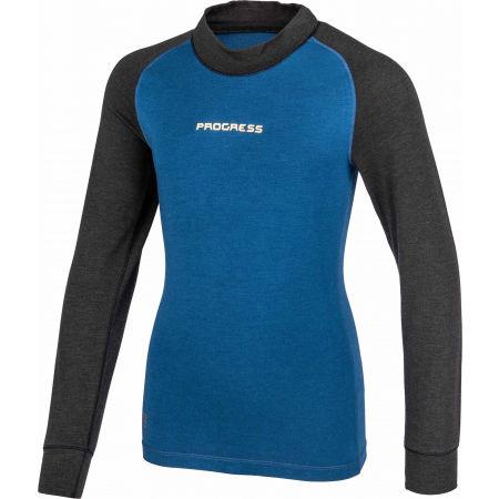 Dívčí funkční triko s dlouhým rukávem - Progress CC NDRD - 2