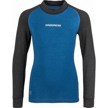 Dívčí funkční triko s dlouhým rukávem - Progress CC NDRD - 1