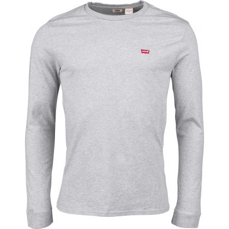 Pánské triko s dlouhým rukávem - Levi's LS ORIGINAL HM TEE - 1