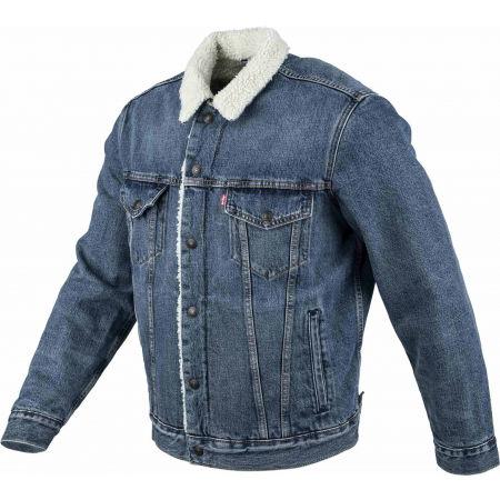 Pánská džínová bunda - Levi's TYPE 3 SHERPA TRUCKER CORE - 2
