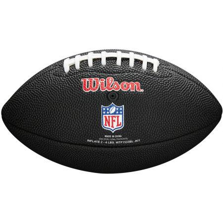 Mini míč na americký fotbal - Wilson MINI NFL TEAM SOFT TOUCH FB BL - 2