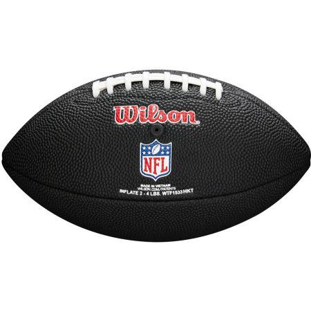 Mini míč - Wilson MINI NFL TEAM SOFT TOUCH FB BL - 2