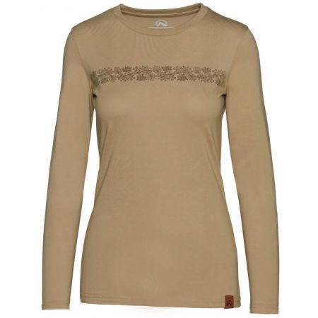 Northfinder ORGESA - Dámské tričko s dlouhým rukávem