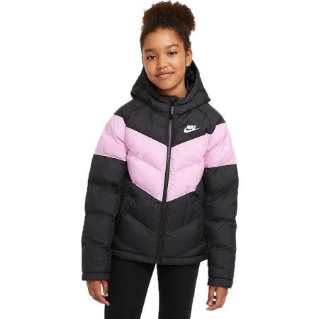 Nike NSW SYNTHETIC FILL JACKET U - Dětská hřejivá bunda