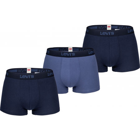 Levi's MEN BACK IN SESSION TRUNK 3P - Pánské boxerky