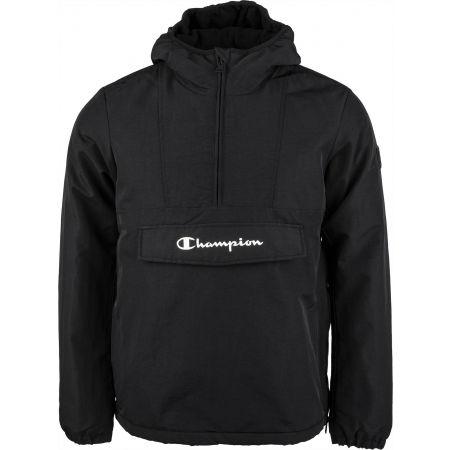 Champion HOODED JACKET - Pánská zateplená bunda