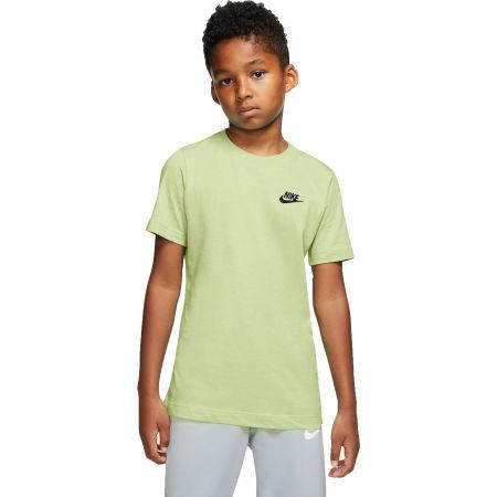 Nike NSW TEE EMB FUTURA B - Chlapecké tričko