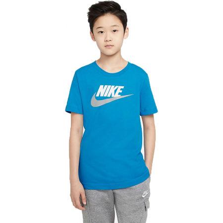 Chlapecké tričko - Nike NSW TEE FUTURA ICON TD B - 1