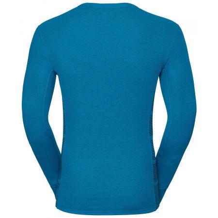 Pánské funkční tričko - Odlo L/S CREW NECK GOD JUL PRINT - 2