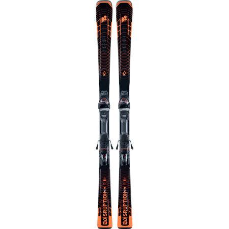 Pánské allmountain lyže s vázáním - K2 DISRUPTION STi + MXC 12 TCx LIGHT Q - 2