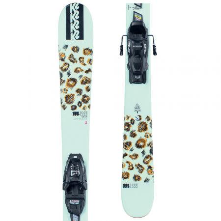 Dívčí allmountain lyže s vázáním - K2 MISSY FDT 7.0 - 1