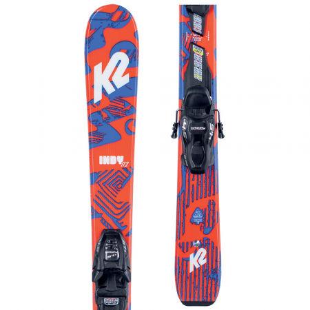 Dětské allmountain lyže s vázáním - K2 INDY FDT 7.0 - 1