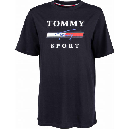 Tommy Hilfiger GRAPHICS  BOYFRIEND TOP - Dámské tričko