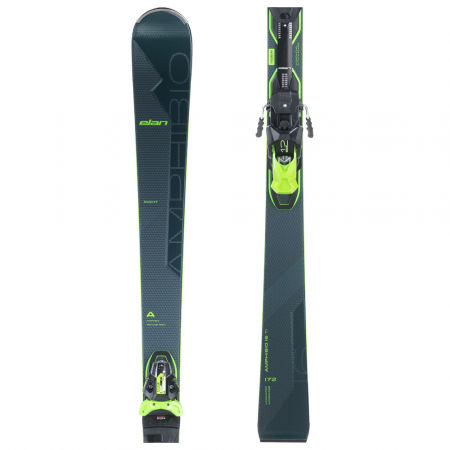 Pánské sjezdové lyže - Elan AMPHIBIO 16 TI FUSION+EMX 12 - 1
