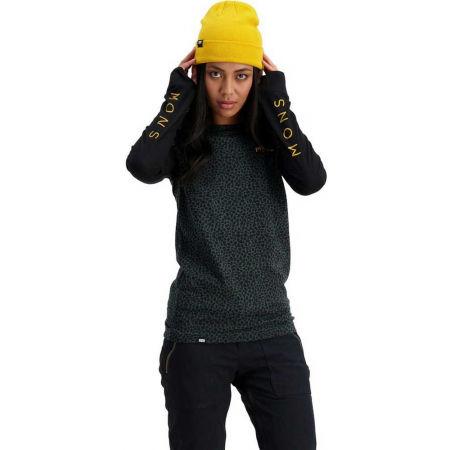 Dámské triko z merino vlny s dlouhým rukávem - MONS ROYALE YOTEI BF TECH - 3