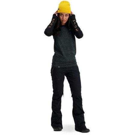 Dámské triko z merino vlny s dlouhým rukávem - MONS ROYALE YOTEI BF TECH - 4