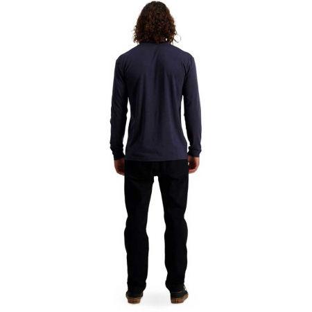 Pánské triko z merino vlny s dlouhým rukávem - MONS ROYALE ICON LS - 5