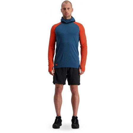 Pánské funkční triko z merino vlny - MONS ROYALE TEMLE TECH FLEX - 5