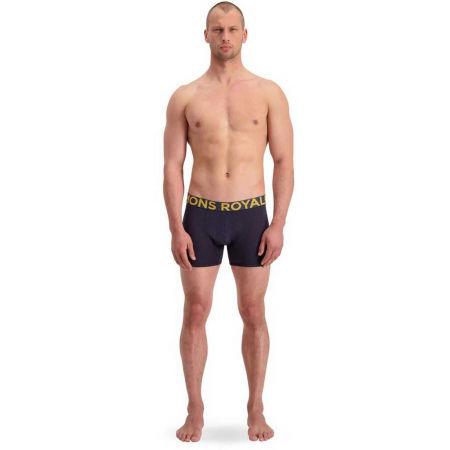 Pánské boxerky z merino vlny - MONS ROYALE HOLD'EM SHORTY - 6