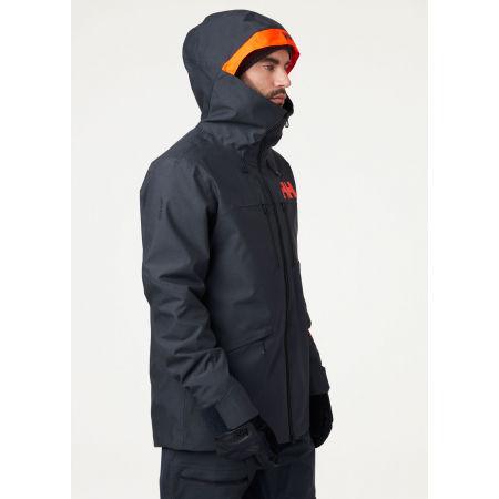 Pánská lyžařská bunda - Helly Hansen GARIBALDI 2.0 JACKET - 4