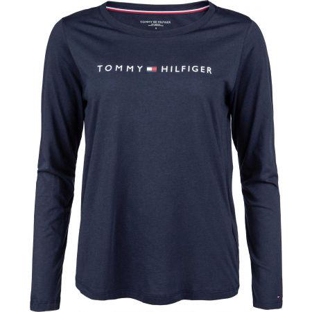 Dámské triko s dlouhým rukávem - Tommy Hilfiger CN TEE LS LOGO - 1