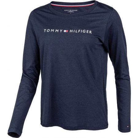 Dámské triko s dlouhým rukávem - Tommy Hilfiger CN TEE LS LOGO - 2